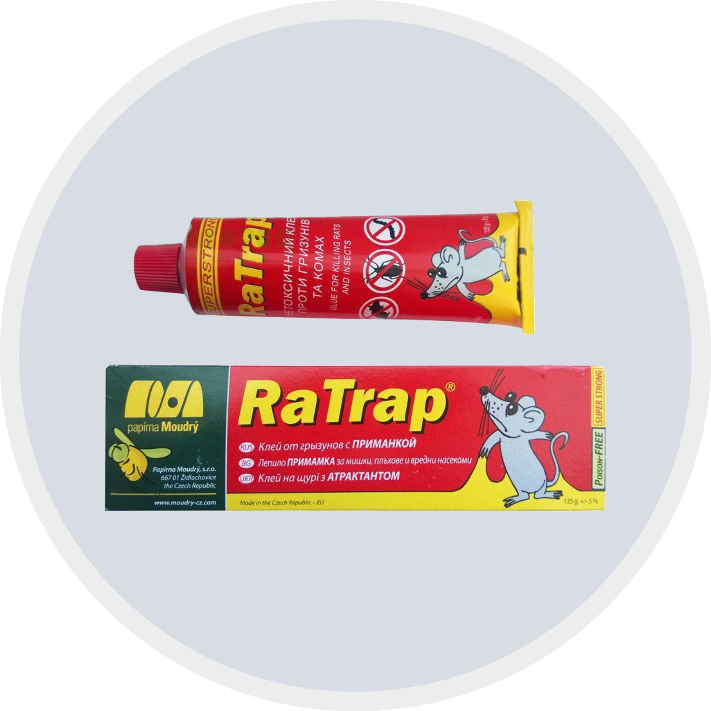 клей від гризунів та комах Ратрап RaTrap
