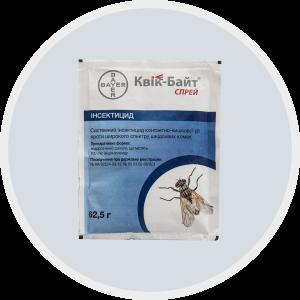 Інсектицидний засіб Квік-Байт Спрей для знищення комах