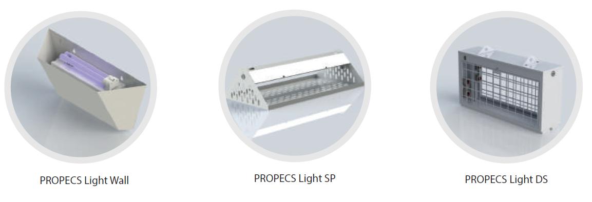 Лампи для відлову комах PROPECS Light