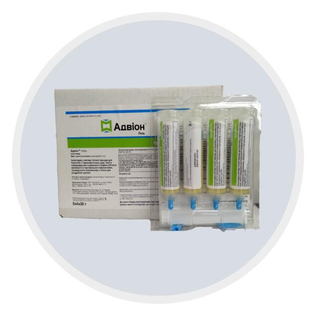 Гель від тарганів Advion (Адвіон) Syngenta. Dupont (Дюпонт)