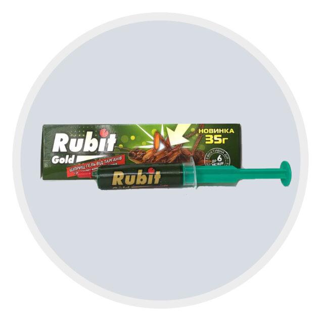 Шприц-гель від тарганів Rubit Gold