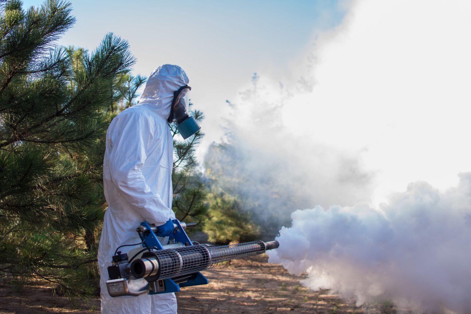 обробка території від комарів